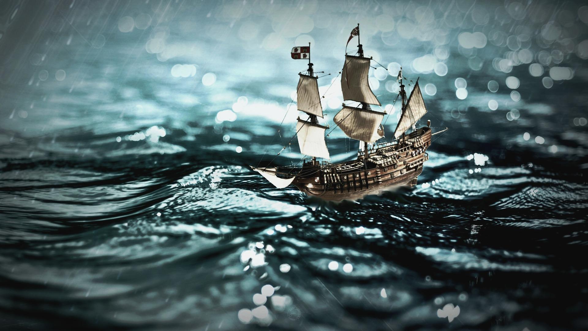 オススメ! ペーパークラフト作品「ペーパーナノキット 海賊船」を作ってみての感想